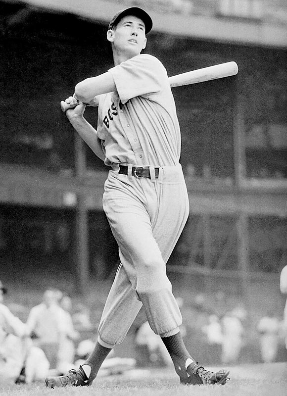 Barking Up The Muse Tree   jespah   Janet Gershen-Siegel   Ted Williams Hits a Home Run   Crackerjack