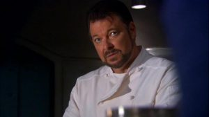 Barking Up The Muse Tree | jespah | Janet Gershen-Siegel | Jonathan Frakes as Chef Will Slocum (image is for educational purposes only) | Before the Fall