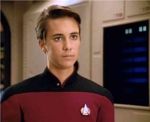 Wesley Crusher of the Crusher Clan